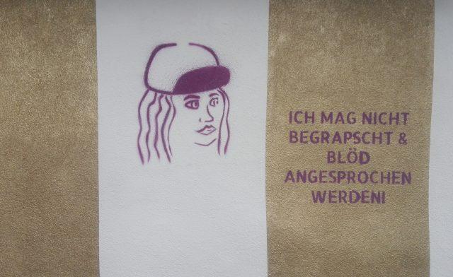 Streetart gegen Sexismus