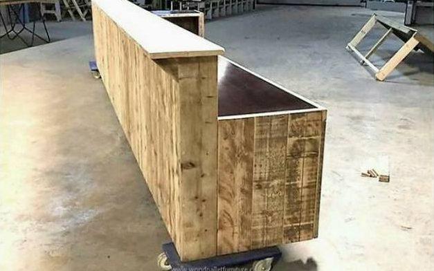 Holzwerkstatt: Bar bauen und Foto-Transfer