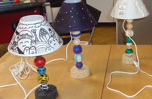 Designe Deine eigene Lampe!