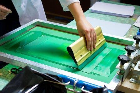 Siebdruck-Workshop